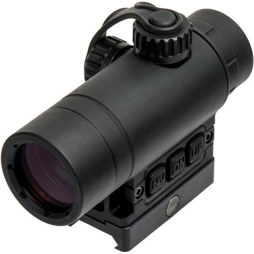 DI Optical RV2 RV2 Reflex Sight (1.5 MOA Red Dot Illuminated Reticle, Matte Black)