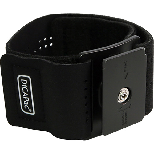 DiCAPac DP-1A Sport-Fit Armband for Waterproof Action Cases