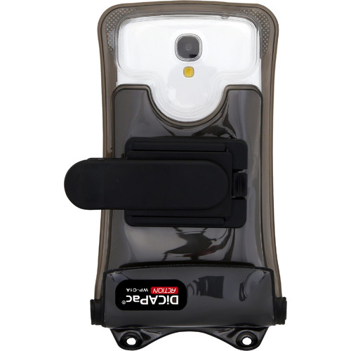"""DiCAPac Waterproof Floating Action Case for Smartphones up to 5.1"""""""