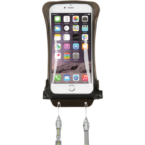DiCAPac Waterproof Case for Samsung Galaxy Note I, II (Black)