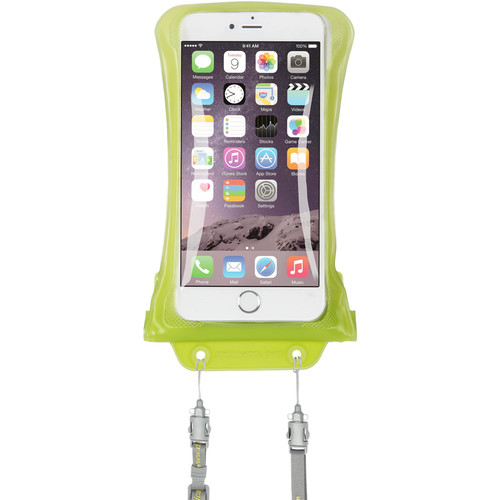 DiCAPac Waterproof Case for Samsung Galaxy Note I, II (Green)