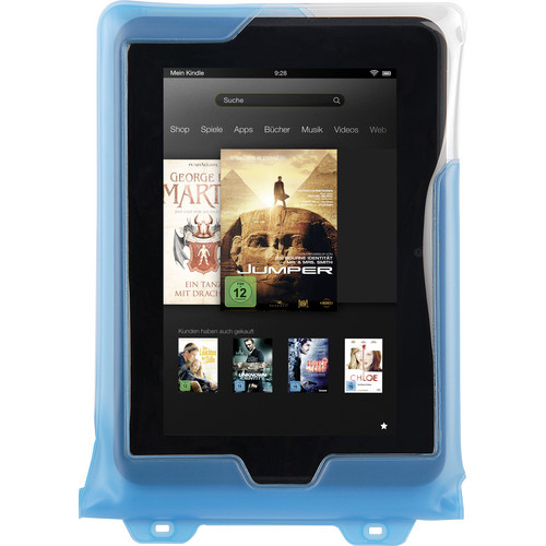 """DiCAPac Waterproof Case for 8"""" Tablets (Blue)"""