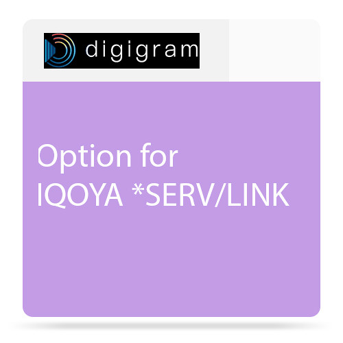 Digigram Option 80 I/Os for SERV/LINK 7272 (except TC)