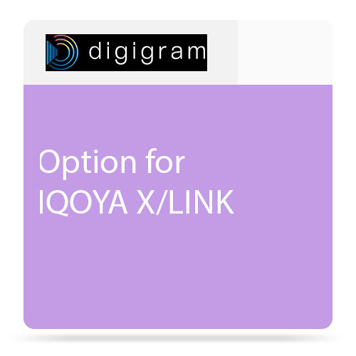 Digigram 4-Stereo/8-Mono Option for X/LINK-AES67