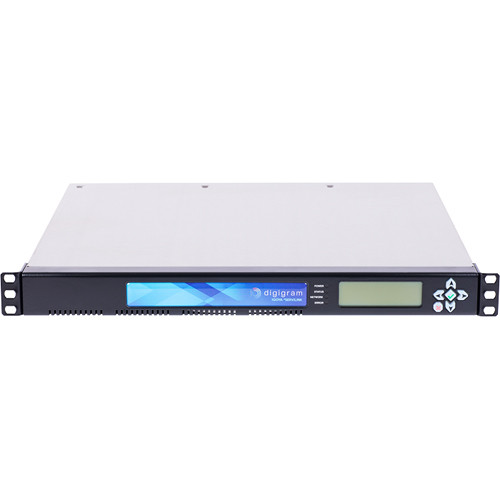 Digigram 1U with 16X Mono IP Codec for Distruibution, 8X Stereo AES/EBU I/O and 16X Mono Analog I/O