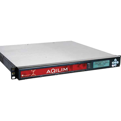 Digigram Aqilim Fit 2C 2-Channel HD/SD Encoding/Transcoding for IPTV and OTT (1 RU)