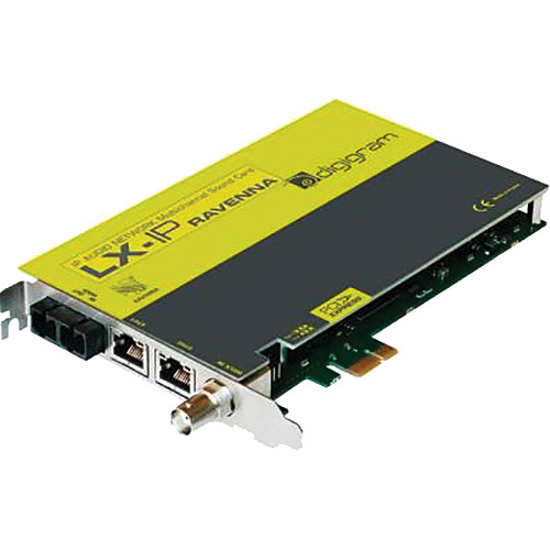 Digigram LX-IP RAVENNA PCIe Sound Card