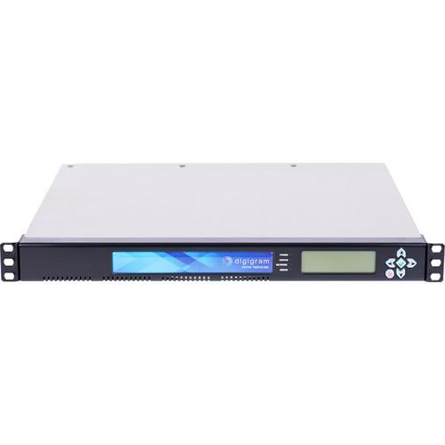 Digigram 72 Mono/36 Stereo IP Audio Codec /AES67/Madimultiformat Encoding / Multiprotocol Streaming/2 AES67
