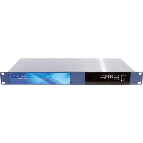 Digigram LoLatency Audio Gateway Bridging Dante/AES67/AOIP Networks to AES/EBU and Madi.64/64 Redundant Input