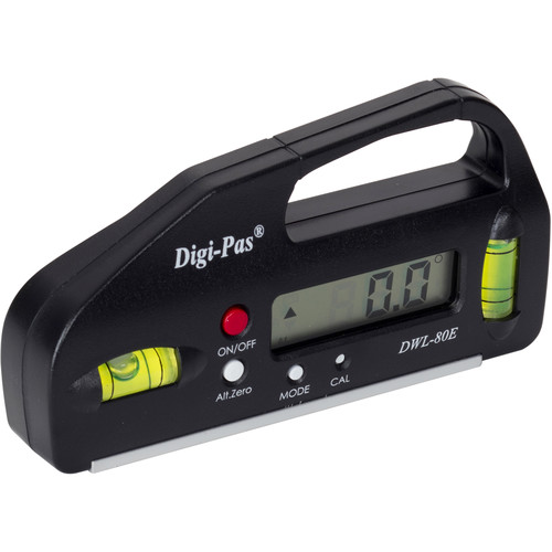 Digipas Technologies DWL-80E Pocket Size Digital Level (Black)