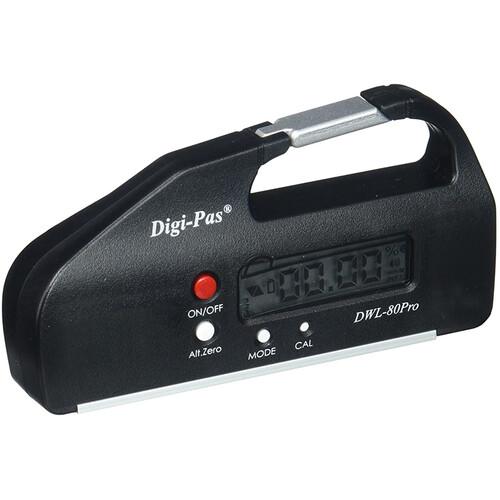 Digipas Technologies DWL-80Pro Pocket Size Digital Level (Black)