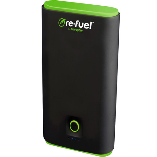DigiPower Re-fuel Rechargeable Dual USB Power Bank (7800mAh)