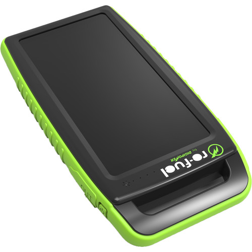 DigiPower Solar Portable Dual USB 15,000mAh Battery Pack