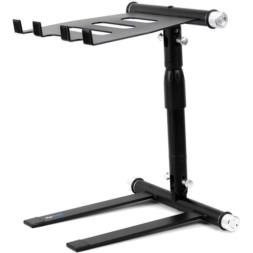 Digistand LPT01 Folding DJ Laptop Stand (Black)
