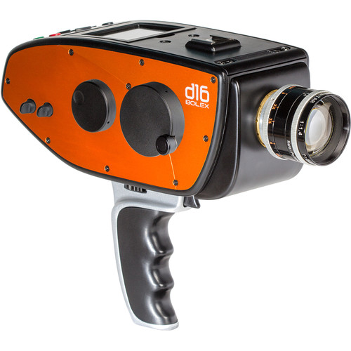 Digital Bolex Side Panels for D16 Camera (Blood Orange)