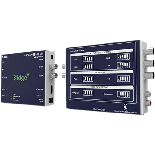 DIGITAL FORECAST Analog to HD-SDI Mini-Type Converter with HDMI Output