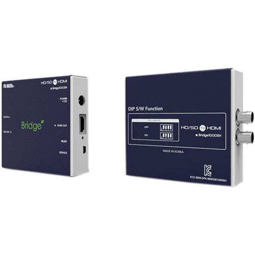 DIGITAL FORECAST Bridge1000 SH HD-SDI to HDMI Converter