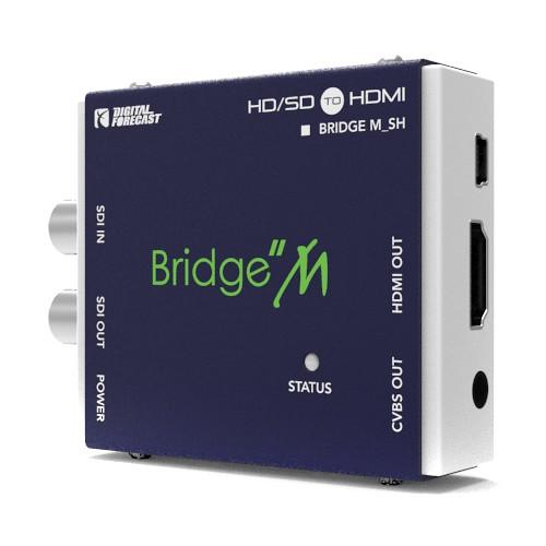 DIGITAL FORECAST Bridge M_SH Mini SDI to HDMI Converter