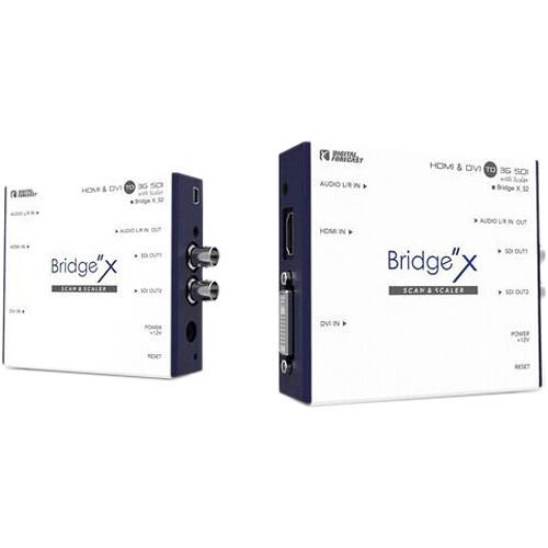 DIGITAL FORECAST Bridge X Series HDMI & DVI to 3G-SDI Converter with Scaler