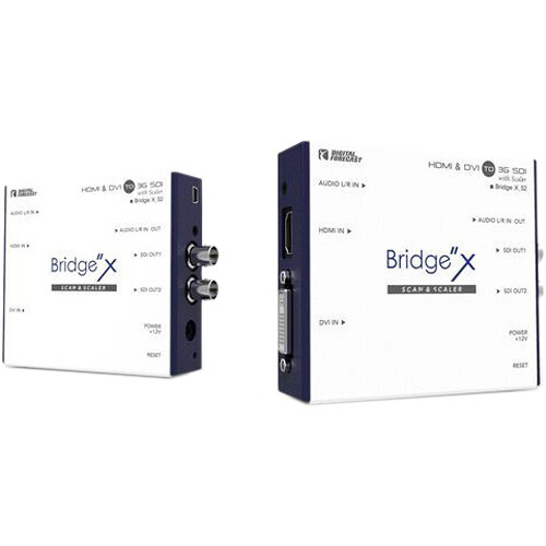 DIGITAL FORECAST Bridge X Series HDMI & DVI to 3G-SDI Converter with Scaler