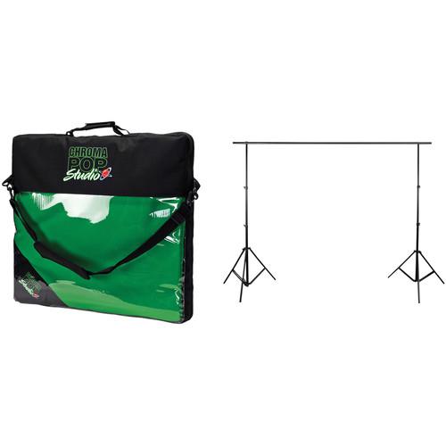 Digital Juice ChromaPop Studio with Stand Kit (12 x 18')