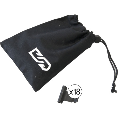 Digital Sputnik Spring Clip Bag (Set of 18)