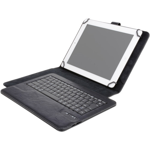 "DIGITAL TREASURES Props Universal Bluetooth Keyboard Case for 10"" Tablets"