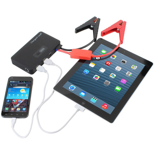 DIGITAL TREASURES ChargeIt! Jump Portable Jump Starter and Power Pack (Black)