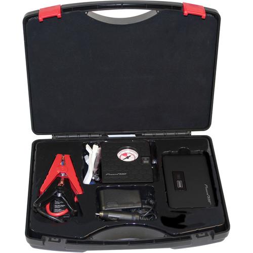 DIGITAL TREASURES Jump Plus 7500mAh Jump Starter & Air Compressor Kit (Black)
