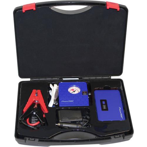 DIGITAL TREASURES Jump Plus 7500mAh Jump Starter & Air Compressor Kit (Blue)