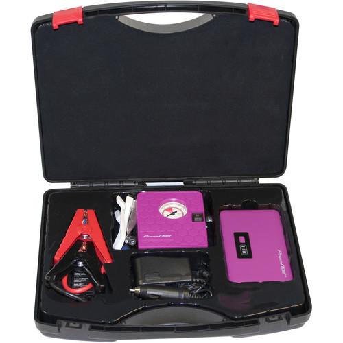 DIGITAL TREASURES Jump Plus 7500mAh Jump Starter & Air Compressor Kit (Purple)