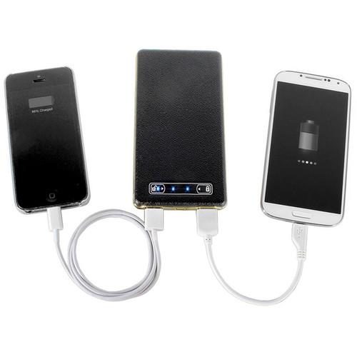 DIGITAL TREASURES ChargeIt PowerGlide Slim Portable 10,500mAh Power Bank (Black)