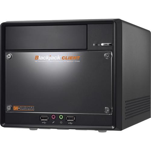 Digital Watchdog Spectrum IPVMS Blackjack Client Workstation for Up to Four Monitors