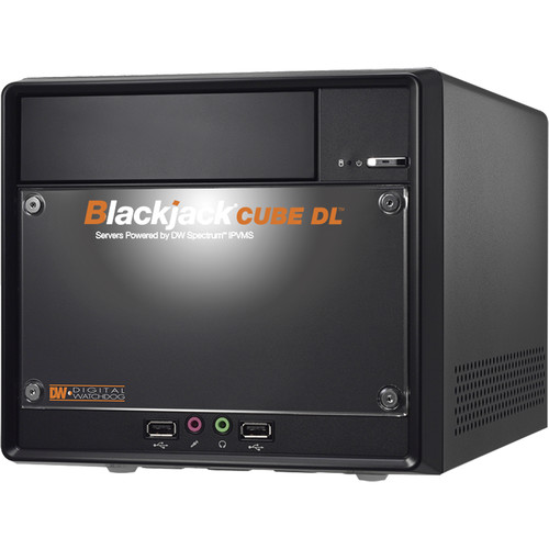 Digital Watchdog 96-Channel Blackjack CUBE DL NVR with 8TB SSD