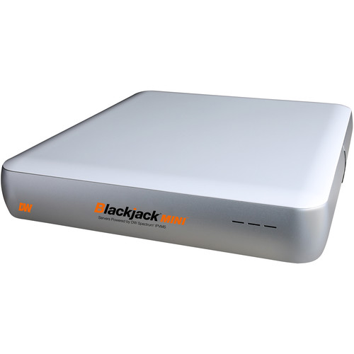 Digital Watchdog DW-BJMINI8TR Blackjack MINI 12-Channel NVR RAID 1 Server with 8TB HDD