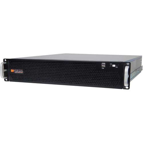 Digital Watchdog 24TB Blackjack P-Rack 2RU 8-Bay NVR Chassis with RAID (Windows 7)