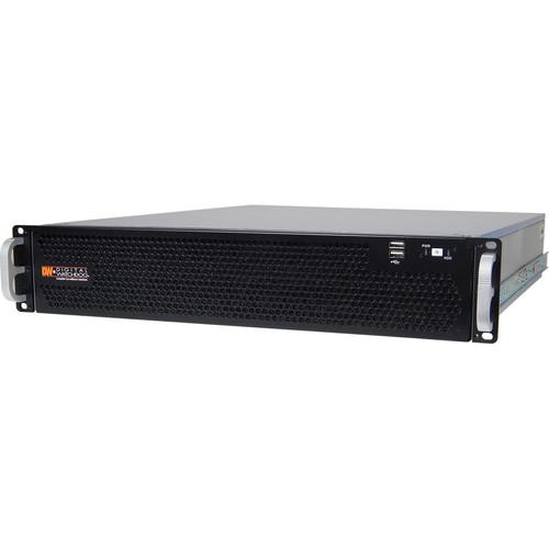 Digital Watchdog 36TB Blackjack P-Rack 2 RU 8-Bay NVR Chassis with RAID (Windows 7)