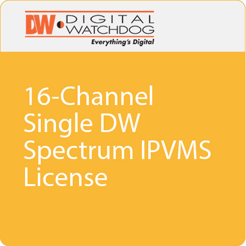 Digital Watchdog 16-Channel Single DW Spectrum IPVMS Encoder License