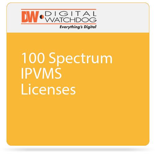 Digital Watchdog 100 Spectrum IPVMS Licenses