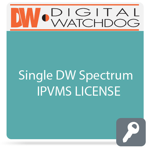 Digital Watchdog DW-SPVWALL1X2 Single DW Spectrum IPVMS Video Wall License (1 Operator, 2 Monitors)