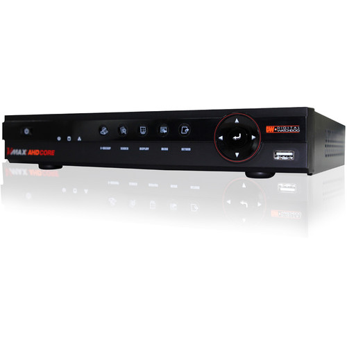 Digital Watchdog VMAX Core Series 4-Channel 1080p AHD DVR with 2TB HDD