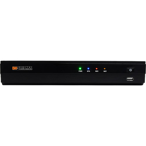 Digital Watchdog VMAX IP Plus 9-Channel NVR (4-Ports PoE, 4TB)