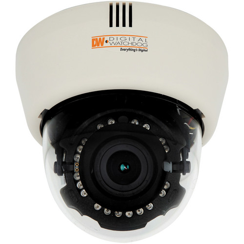 Digital Watchdog DWC-D4363TIR Snapit Indoor Dome Camera with 3.3 to 12mm Varifocal Lens (White, NTSC)