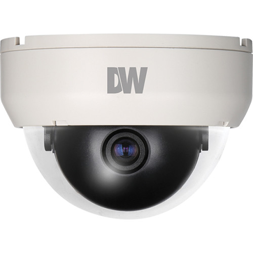 Digital Watchdog Value Line DWC-D6351D Compact Indoor Dome Camera with 3.6mm Fixed Lens (NTSC, Ivory)