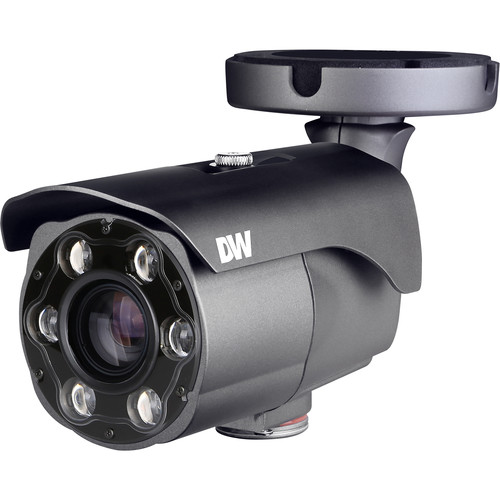 Digital Watchdog MEGApix CaaS 4MP Outdoor License Plate Recognition Network Bullet Camera with 64GB Storage