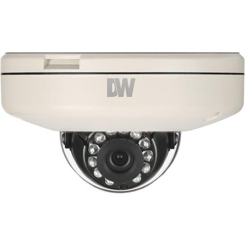 Digital Watchdog MEGApix 1MP Surface Mount Vandal Dome IR Camera (Fixed 3.6mm Lens)
