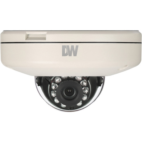 Digital Watchdog MEGApix Series DWC-MF10M8TIR 1MP Surface Mount Vandal Dome IR Camera with 8.0mm Fixed Lens