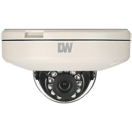 Digital Watchdog MEGApix Flat 2.1MP Indoor/Outdoor Vandal Dome Camera with 4.0mm Fixed Lens