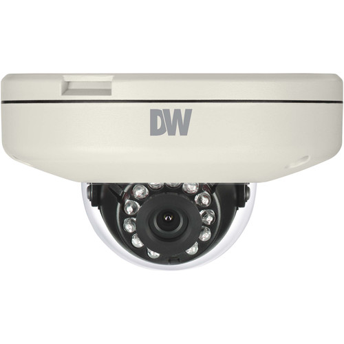 Digital Watchdog MEGApix CaaS Series 4MP Outdoor Network Vandal Dome Camera with Night Vision & 6mm Lens (128GB)