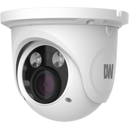 Digital Watchdog MEGApix 4MP Outdoor Network Turret Camera with 3.3-12mm Lens & Night Vision